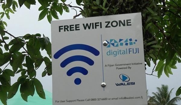 Free Wifi in Fiji
