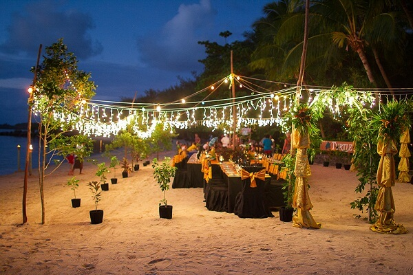 New Years Eve Celebrations at Turtle Island in Fiji