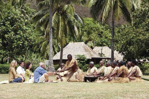 New Years Eve in Fiji Village